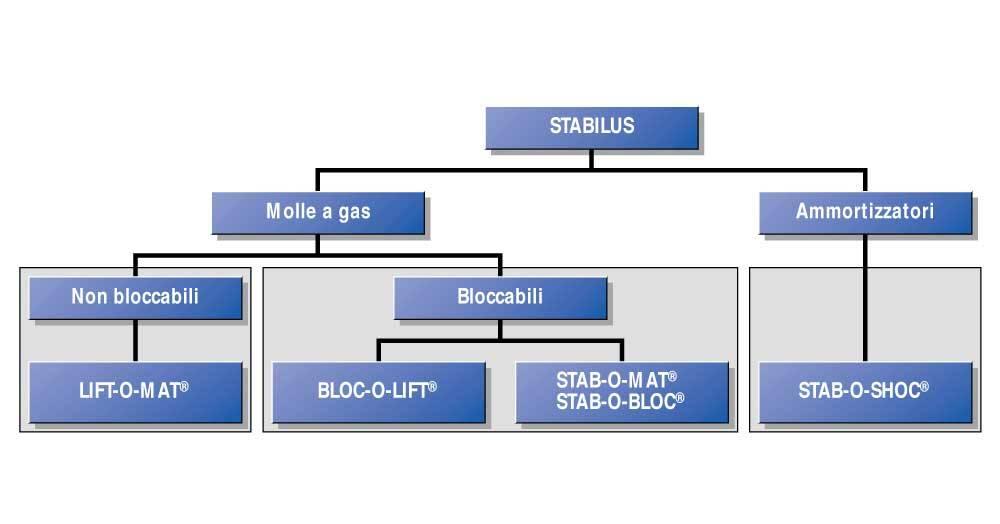 Scelta Applicazione Molle Gas